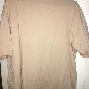 Tan Pacsun T-shirt